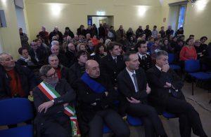 Il pubblico presente, con in prima fila le autorità amministrative e delle forze armate (foto Massimo Pasquali)