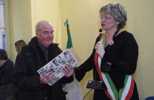"""Alcide Pini l'ultimo dei """"barsan"""" (foto Massimo Pasquali)"""