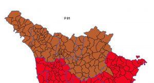 Il collegio plurinominale al Senato comprende le province di Massa Carrara, Lucca, Pistoia, Prato e Firenze