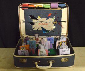 La valigia realizzata dai ragazzi del Micheloni