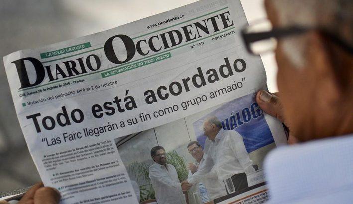 In Colombia vincono le forze politiche contrarie all'accordo di pace