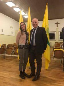 A sinistra Francesca Ferrari, nuova presidente provinciale del Coldiretti