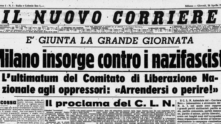 Consultabile on line tutto l'archivio del Corriere della Sera dal 1876 ad oggi
