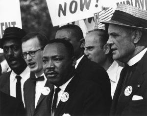 Washington, 28 agosto 1963. Martin Luther King alla marcia per i diritti civili