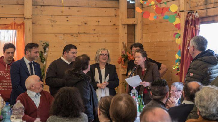 A Scorcetoli un premio alla tradizione della torta d'erbi