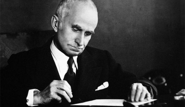 Luigi Einaudi, l'11 maggio 1948 è il primo presidente eletto della Repubblica Italiana