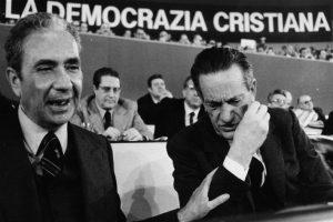 Aldo Moro con Benigno Zaccagnini