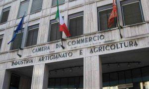 La facciata di una Camera di Commercio