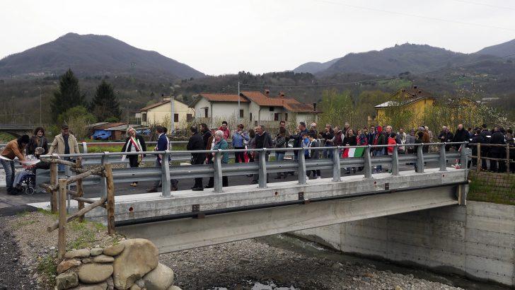 Inaugurato a Filattiera il ponte sull'Orzanella