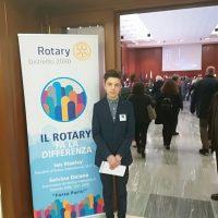 Premio Rotary per il giovane lunigianese Mattia Moscatelli