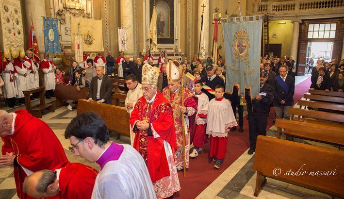 A Bagnone la solennità della S. Croce con il card. Ernest Simoni