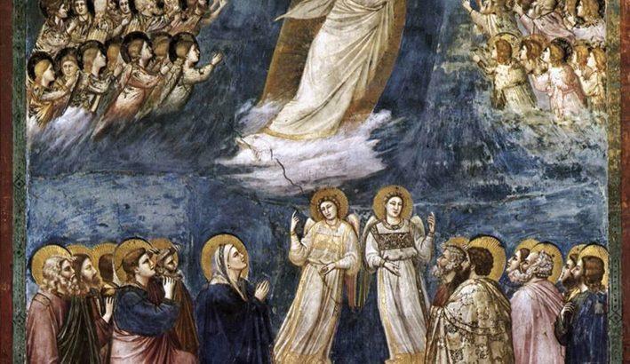Ascensione del Signore, tra canti di gioia