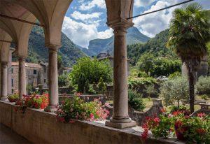 Il giardino di Villa Giannetti a Monzone