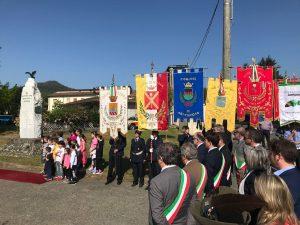 Un momento della celebrazione provinciale del 25 Aprile a Tresana