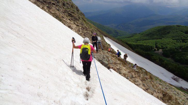 Il Mangia Trekking sulle vie dell'ultima neve