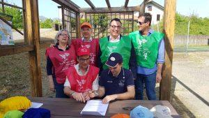 """Piana di Filattiera: alla presenza delle autorità la firma della convenzione tra il Consorzio di Bonifica 1 Toscana Nord e le associazioni del territorio per """"l'adozione"""" di un corso d'acqua."""