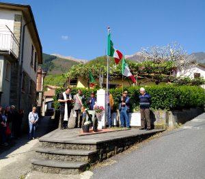 La cerimonia del 25 Aprile a Vico di Bagnone