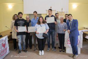 Alcuni dei donatori premiati