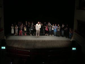 """Il casto dello spettacolo """"Il sogno di Celestino""""  ricevono i meritati applausi"""