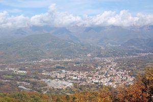 Panorama di Villafranca