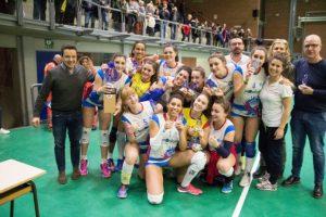 Le ragazze del Tecnofire Pontemediceo neo campionesse regionali under 18