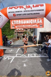 La vincitrice a Cecina Luciana Bertuccelli