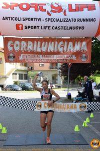 La vincitrici a Villafranca Luciana Bertuccelli