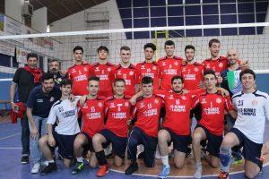 I ragazzi del Lupi Folgore che si sono aggiudicati la finale per il titolo di campione regionale maschile Under 18