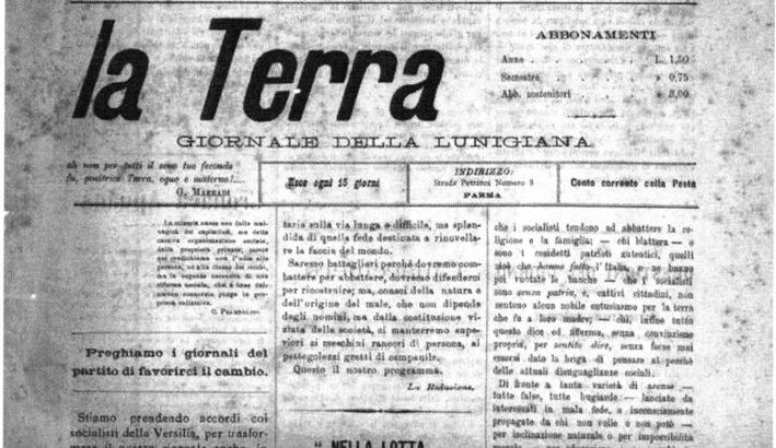 Militanti dell' anarchismo lunigianese prima e durante la Grande Guerra