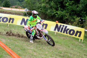 Il vincitore della gara Alessio Paoli
