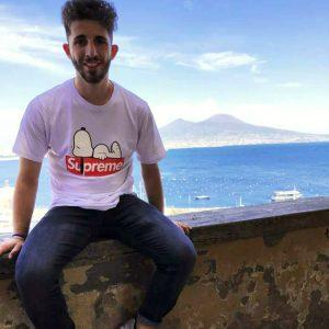Un immagine di Angelo Adduocchio il giovane filattierese morto investito mentre lavorava sulla A15
