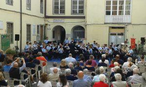 Il concerto del Corpo Bandistico G. e F. Medesani di Boretto per il  gemellaggio