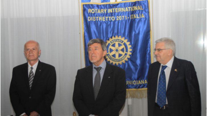 Andrea Baldini è il nuovo presidente del Rotary Lunigiana