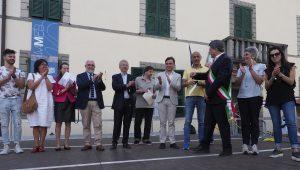 Un momento dedicata al concorso per la migliore Carscenta, un dolce della tradizione. (Foto di Massimo Pasquali)