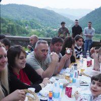 Fivizzano, il paese delle cento feste che si sovrappongono