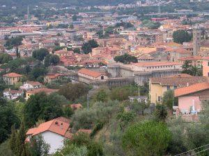 Vista panoramica della città di Sarzana
