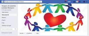 """La pagina Facebook del """"Gruppo di Scambio Solidale Mulazzo"""""""