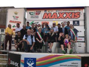Foto di gruppo degli organizzatori al termine della manifestazione