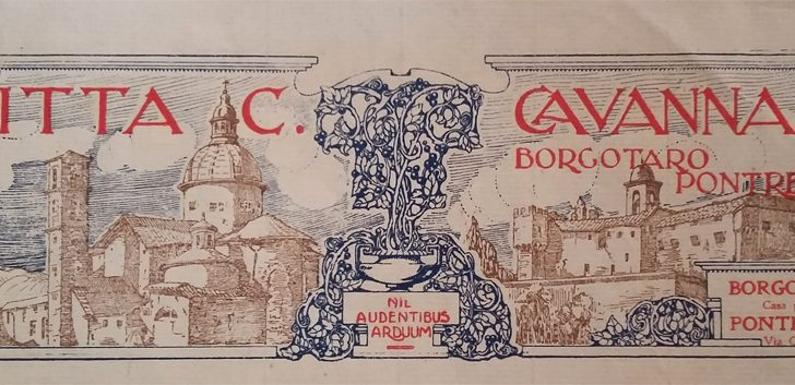 I Cavanna, tipografi a Borgo Taro e a Pontremoli