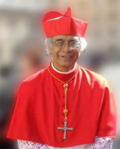 Il card. Leopoldo Brenes, arcivescovo di Managua