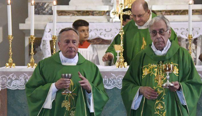 A Soliera l'ingresso del nuovo parroco don Maurizio Marchini
