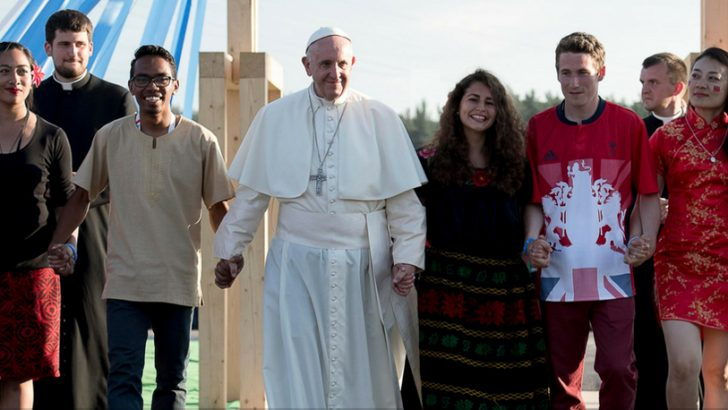 Ad agosto i giovani con Papa Francesco