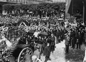Roma, Santa Maria degli Angeli e dei Martiri, 21 agosto 1928. I funerali di Stato di Flavio Torello Baracchini