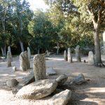 L'area del gruppo di menhir di Cauria Renaggiu
