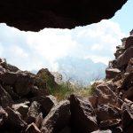 Una postazione sul Monte Cauriol sul Sentiero degli Italiani