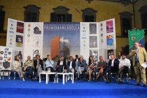 Il palco del Bancarella Sport 2018 (foto Massimo Pasquali)