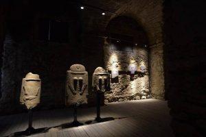 Uno suggestivo scorcio del Museo delle Statue Stele
