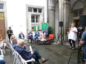 Il saluto del sindaco, Lucia Baracchini, ai presenti