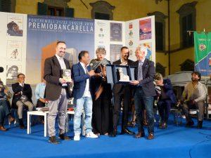 La premiazione dei vincitori del Bancarella Sport 2018