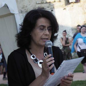 Inaugurazione parco giochi - Cristina Baldini (foto Massimo Pasquali)